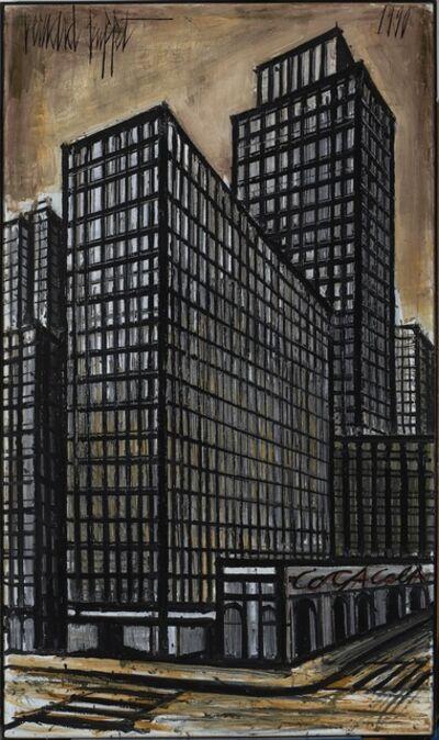 Bernard Buffet, 'New York, Daily News building', 1990