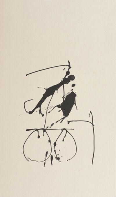 Robert Motherwell, 'Octavio Paz Three Poems 9', 1987