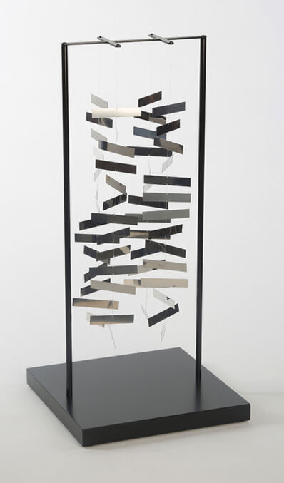 Julio Le Parc, 'Mobile rectangle dans l'espace', 2009