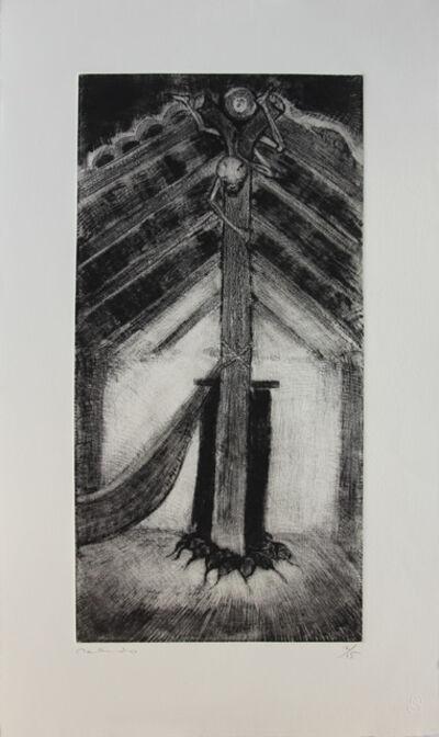Francisco Toledo, 'El muerto colgado ', 2017