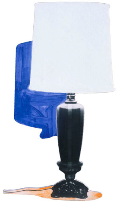 John Baldessari, 'Table Lamp and its Shadow E & K', 1994