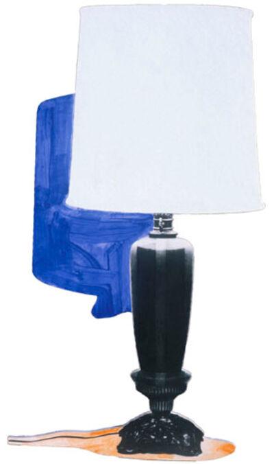 John Baldessari, 'Table Lamp and its Shadow E & K', 1994