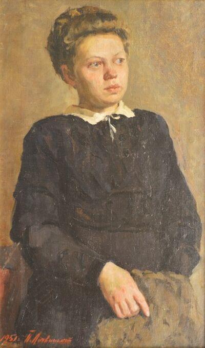 Petr Petrovich Litvinsky, 'Portrait of Nina', 1951