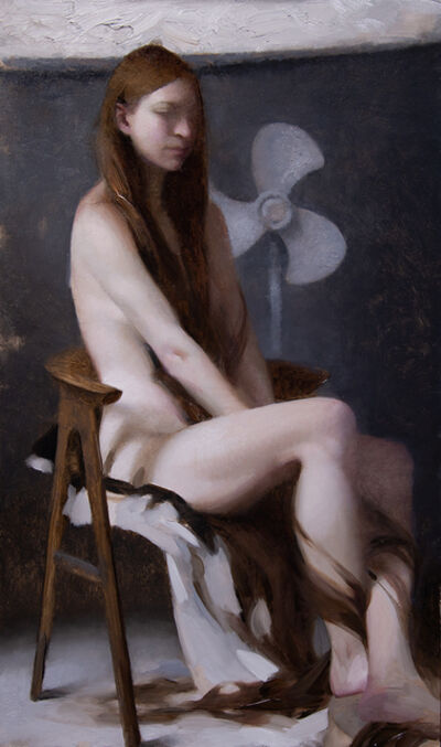 "Joseph Todorovitch, '""Repunzel (Seated)""', 2018"