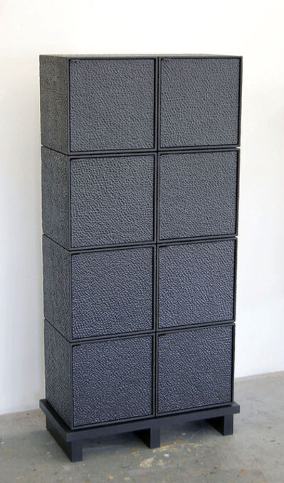 John Eric Byers, '8 Cubes Chest of Drawers', 2017