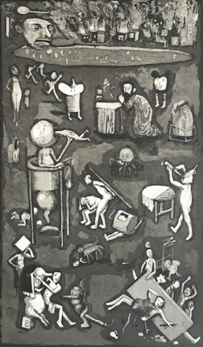 Armando Romero, 'Las Tentaciones de San Antonio', 2017