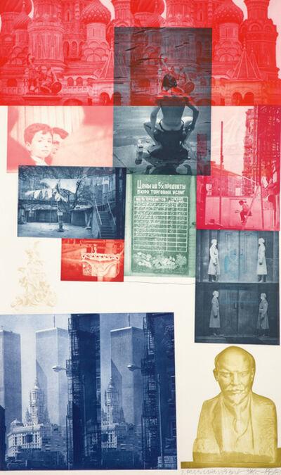 Robert Rauschenberg, 'Soviet/American Array I', 1988-89