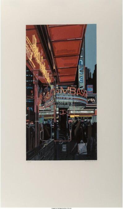 Richard Estes, 'Study XIII - Theater', 1997