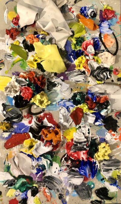 Ismael Lagares, 'Ocher Yellow XV', 2019