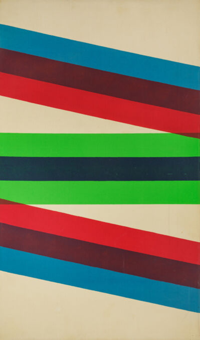 Paul Reed, 'Interchange X', 1966