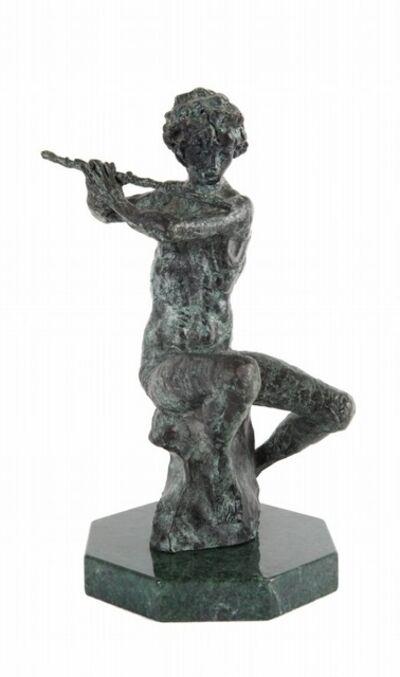 Augusto Murer, 'Fauno allo scoglio', 1984