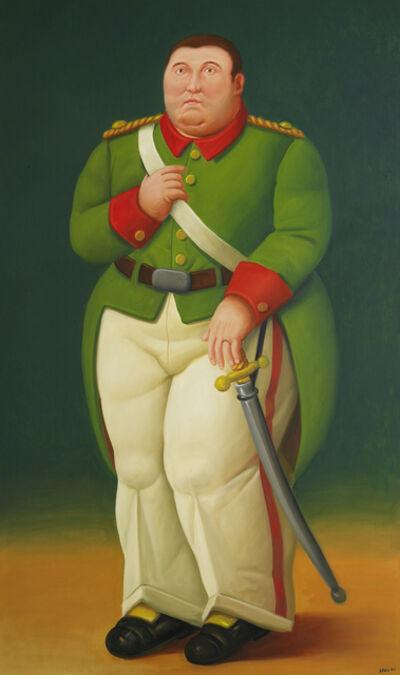 Fernando Botero, 'General', 2006