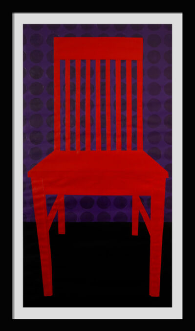 Jon Key, 'The Red Chair No. 1', 2019