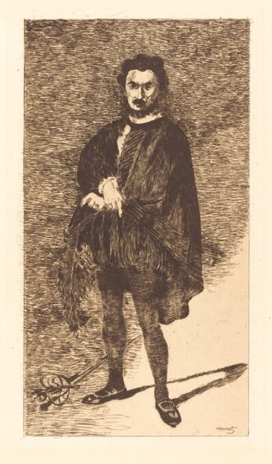 Édouard Manet, 'The Tragic Actor (L'acteur tragique)', 1866