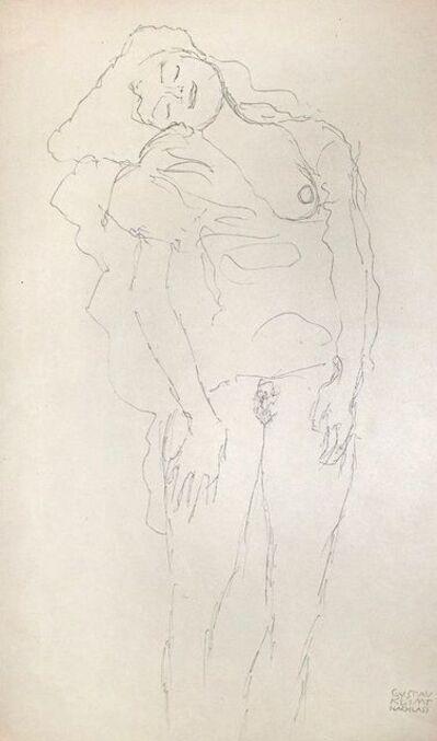 Gustav Klimt, 'Standing Female Nude', 100369