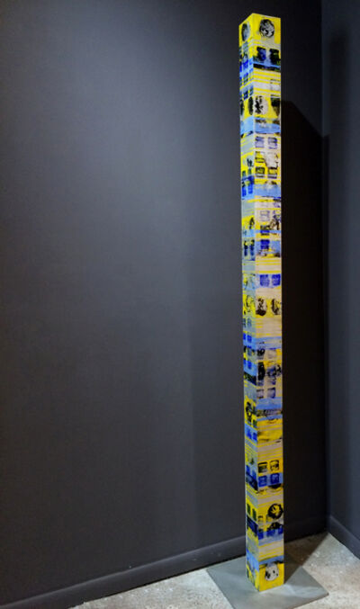 Jorge Enrique, 'Totem (Yellow and Blue)', 2015