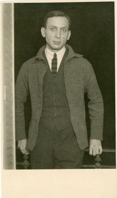 André Kertész, 'André Kertész standing in doorway #3, circa 1927', ca. 1927
