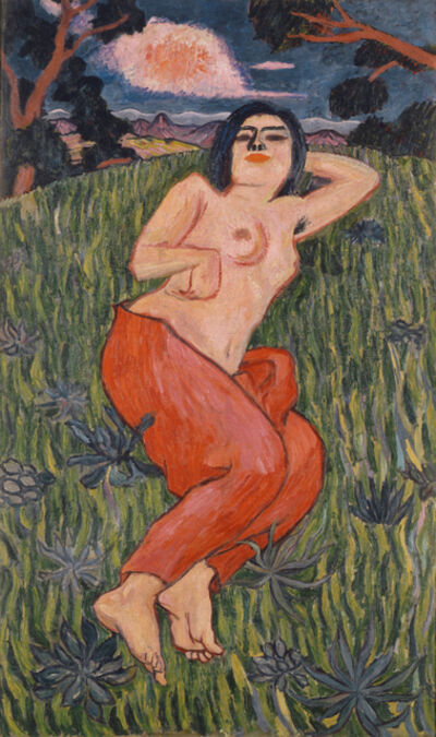 Yorozu Tetsugoro, 'Nude Beauty', 1912