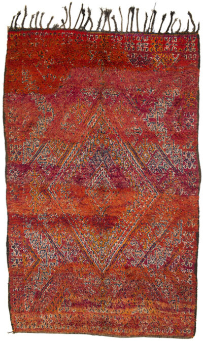 Joseph Carini, 'Beni Mguild Vintage Rug'