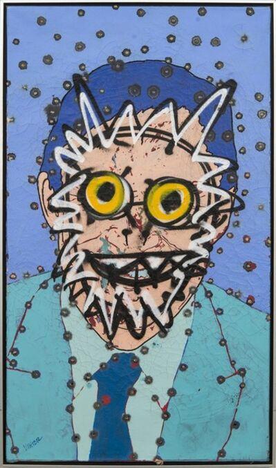 Viktor Mitic, 'Marc - graphic, portrait, pop-art style, cultural, acrylic painting on canvas', 2020