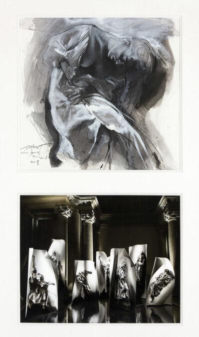 Ernest Pignon-Ernest, 'Marie de l'incarnation', 2008