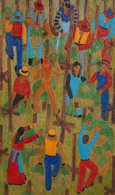 Winfred Rembert, 'Hanging Peanuts', 2011
