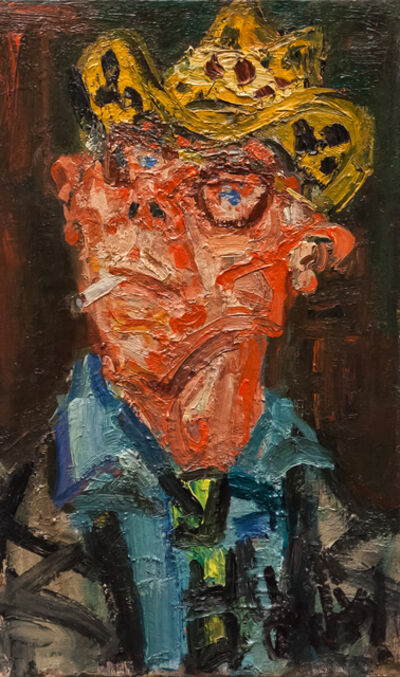 Gen Paul, 'Autoportrait à la cigarette', ca. 1960