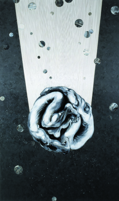 "Michiko Itatani, '""Untitled"" Painting from Virtual Pair X1', 1993"