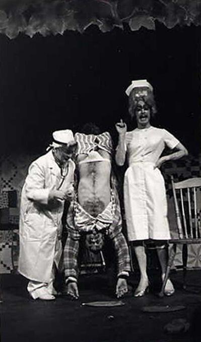 "Leandro Katz, 'Charles Ludlam's ""Corn"", 13th Street Theatre', 1972-1995"