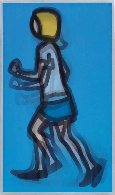Julian Opie, 'Bibi Running', 2012