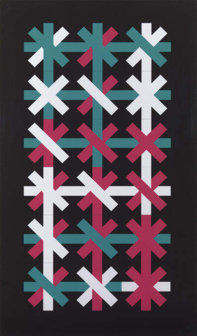 Peter Lowe, 'Double Crosses', ca. 2012