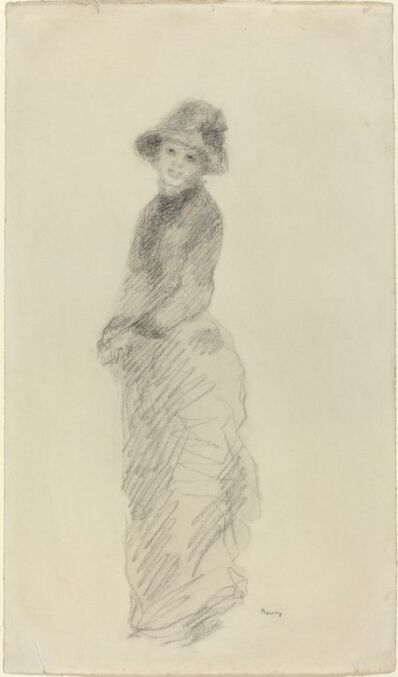 Pierre-Auguste Renoir, 'Young Woman Standing', ca. 1880