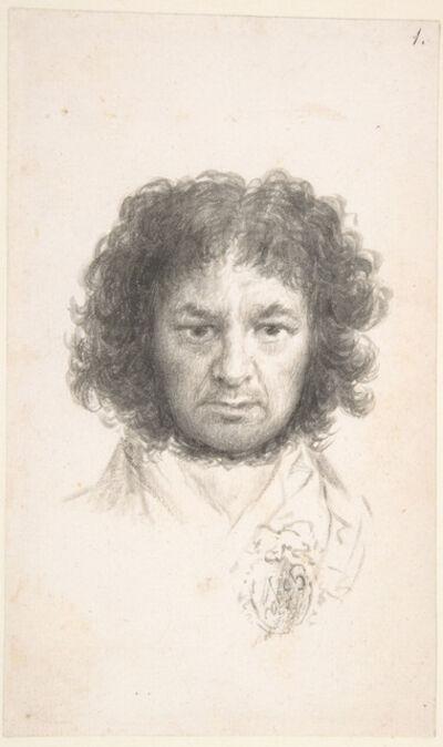Francisco de Goya, 'Self Portrait', 1795-1797