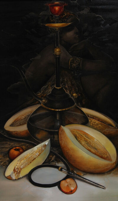 Olga Shangina, 'Still life with melon ', 2016