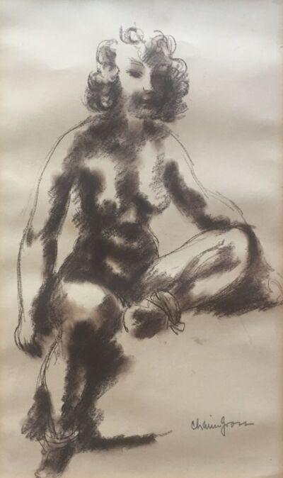 Chaim Gross, 'Untitled (Nude)', ca. 1930