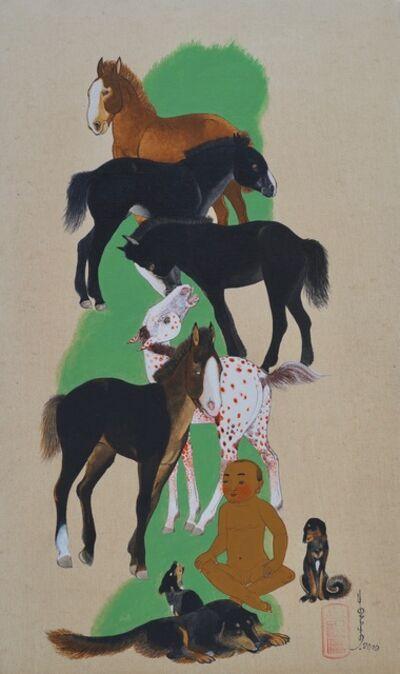 Baasanjav Choijiljav, 'Silence', 2017
