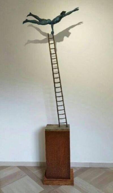 Giacinto Bosco, 'Acrobata su scala piccola', 2015