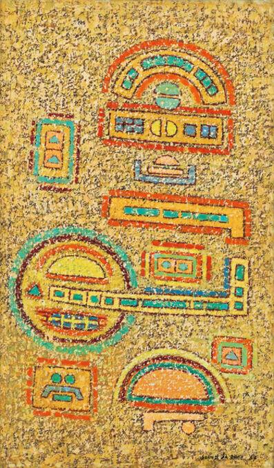 Seundja Rhee, 'Nous T'ouvrons Nos Villages', 1967