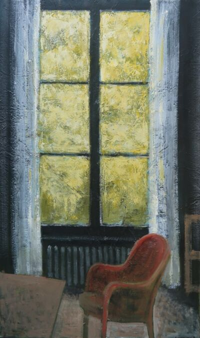 Albert Hadjiganev, 'Fenêtre jaune'