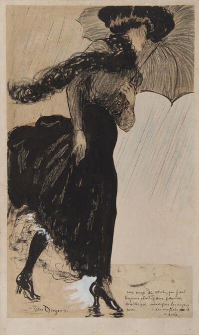 Kees van Dongen, 'Un coup de vent', 1901