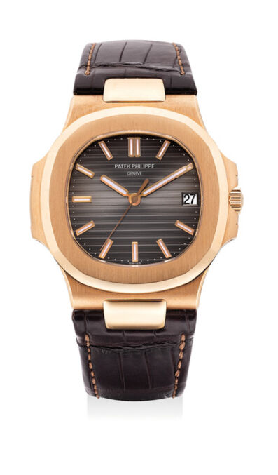Patek Philippe, 'A fine and attractive pink gold automatic wristwatch with date, certificate and presentation box', 2008