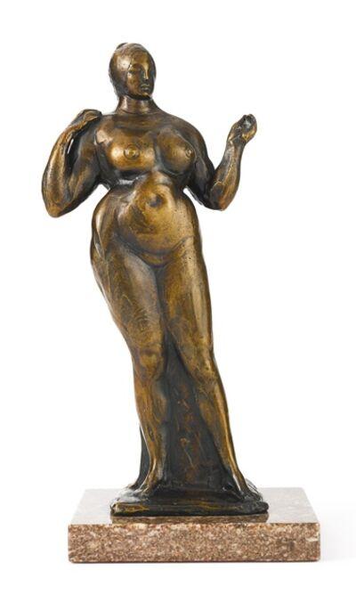 Gaston Lachaise, 'Female Figure (Standing Nude, Left Hand Raised)', 1927