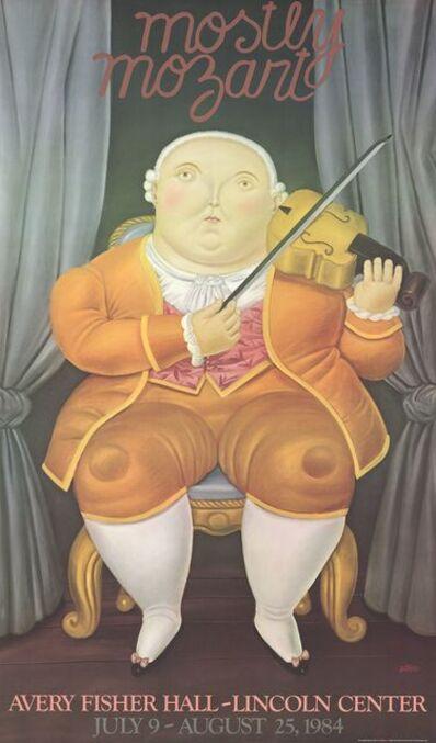Fernando Botero, 'Mostly Mozart', 1984