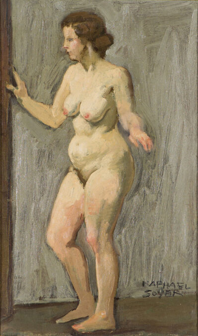 Raphael Soyer, 'Untitled Nude', 20th Century