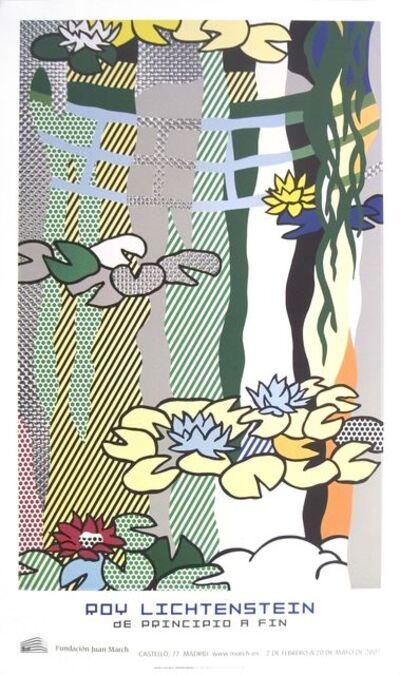 Roy Lichtenstein, 'Water Lilies with Japanese Bridge', 2007