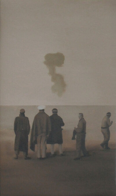 Miguel Aguirre, 'Eitel Sasnal from the Thirteen Painters series'