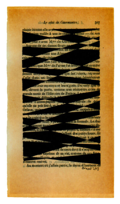Oriane Stender, 'Untitled pages drawings (page 307)', 2013