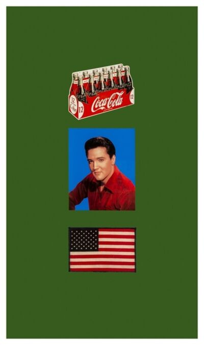 Peter Blake, 'American Trilogy Green (Large)', 2007
