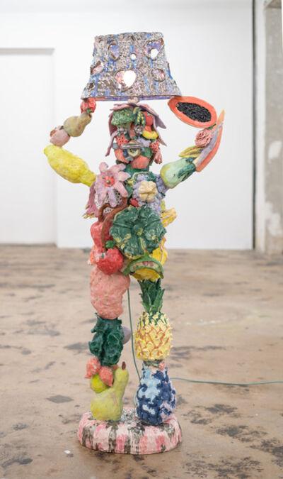 Katie Stout, 'Fruit Lady (Silver)', 2020