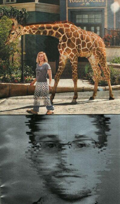 Mark Street, 'Giraffe Snowden', 2017